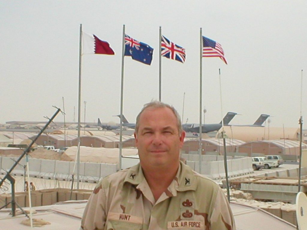 Col Hunt in Iraq