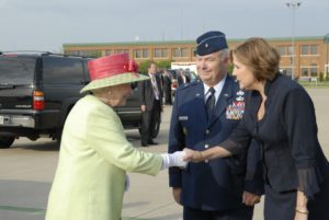 Howard and Aprile Meet The Queen of England and welcome her to Louisville