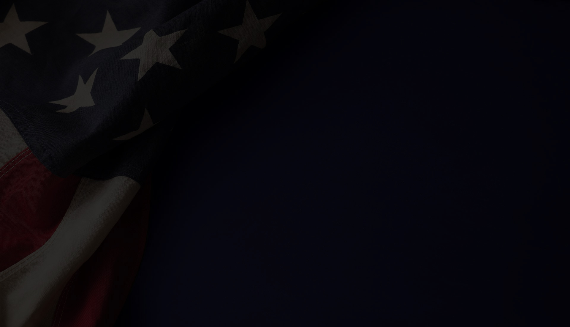 Howard Hunt for County Judge Executive - Flag Background - Dark