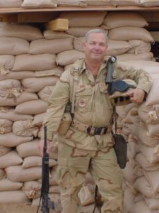 Serving in Operation Iraqi Freedom