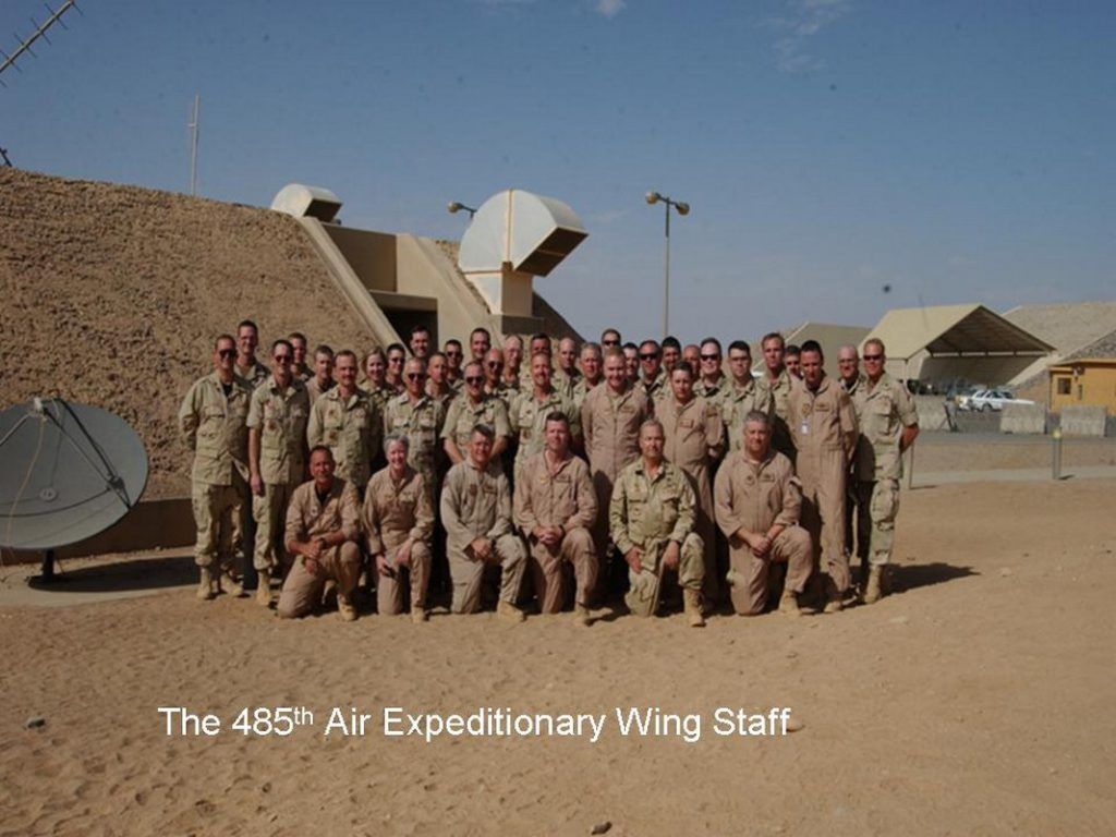 485th Air Expeditionary Wing Staff in Saudi Arabia