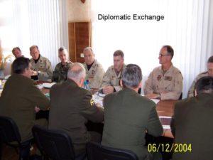 Diplomatic Exchange
