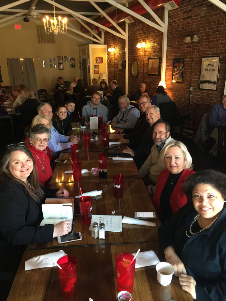 Lunch after Howard Hunt's Filing for Boyle County Judge Executive