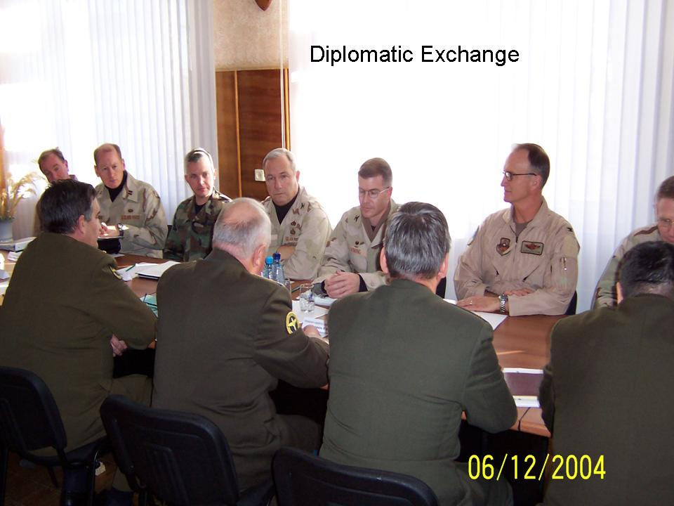 Diplomatic Exchange in Almaty Kazakhstan