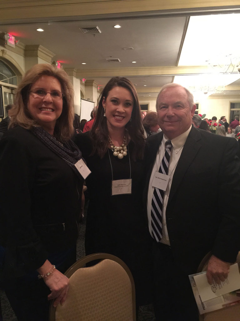 Chamber of Commerce Dinner with Kylie Foushee staff member of Congressman Brett Guthrie